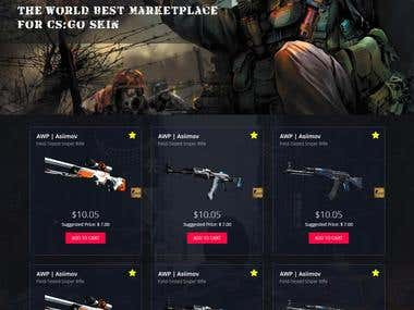 Marketplace for gaming items