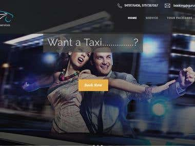 TAXI BOOKING WEBISTE