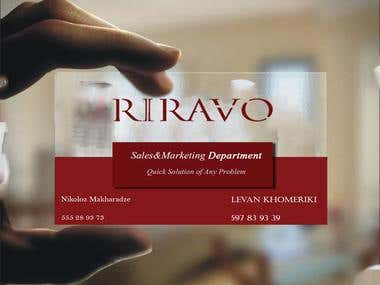 card design for riravo