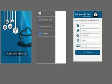 NFC Cafe App