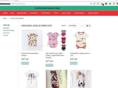 Shopify, Product Upload and Order Processing on Oberlo