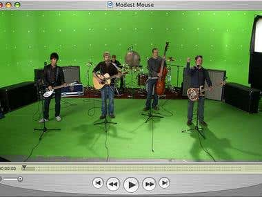 Music-Videos_Green screen