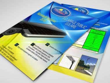Brochure Design, Event Signage, Promotional flyers