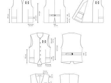 Fashion Spec Sheets