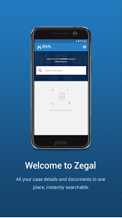 Zegal (Web, Mobile App for Legal Industry)