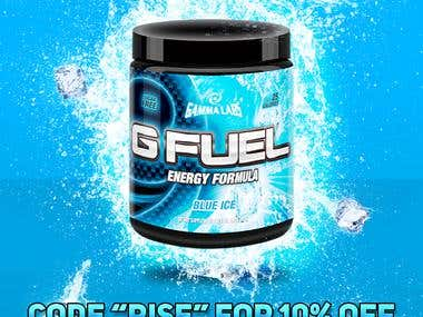 Contest Entry For Gfuel ICE BLAST