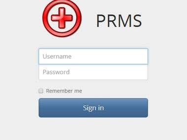 Patient Record Management System (PRMS)
