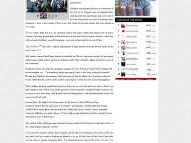 International News Article