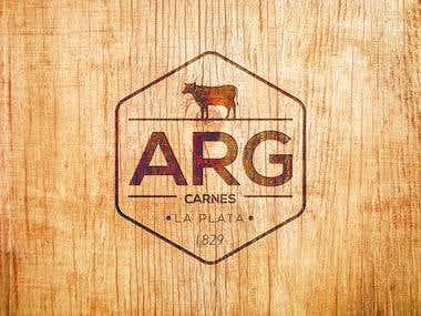 Diseño de Logotipo para ARG carnes