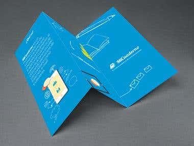 Diseño de folletería para MiCuaderno