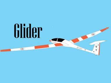 Design OF Glider....