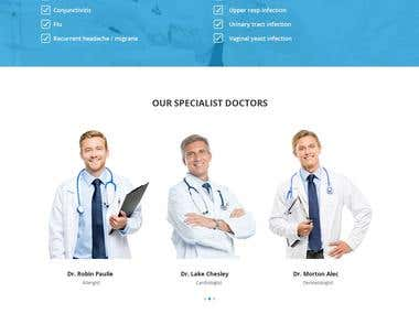 Telemedicine website