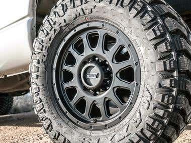 """El Arco"" truck alloy wheel"