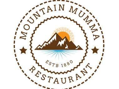 Mountain Mumma Logo Design........