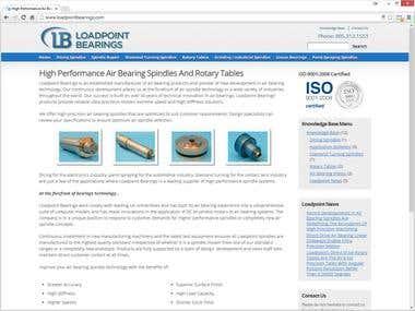 Load Point Bearings Website