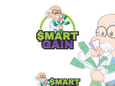 Mascot Illustration for Smart Gain