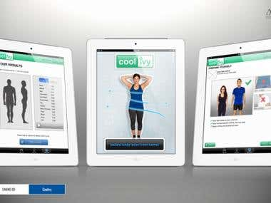 iPad Fitness Measuring App