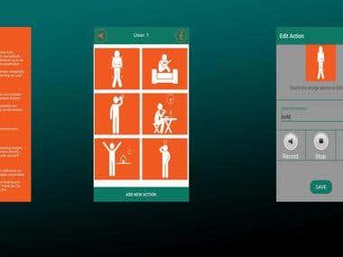 App for Autistic Kids(vaakya)