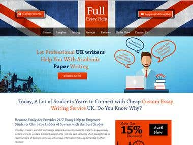 Education Website Design - Wordpress