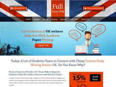 Education Website Design - Wordpress