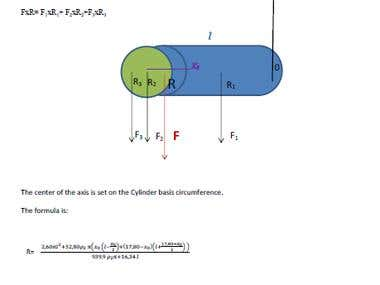 Baricentric calculation, projecting a sculpture