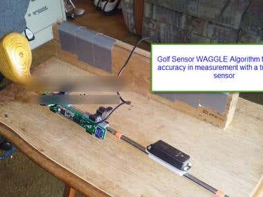 Waggle Algorithm : Golf Stick Sensor