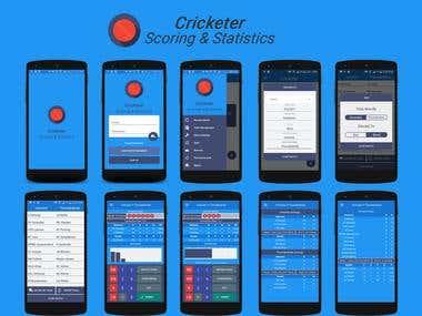 Cricketer - Scoring & Stats