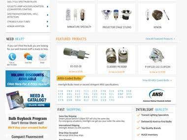 Interlight Website Design