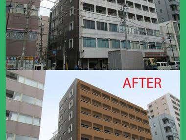 Repaint Building