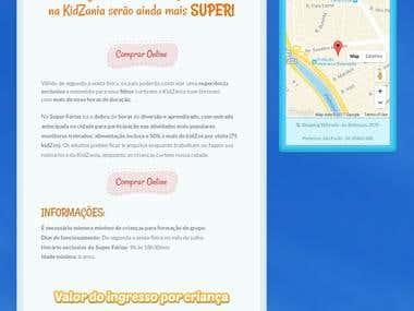 Virtual Store + Landing Page