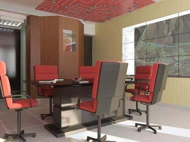 Render interior oficina