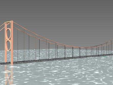 Suspension Bridge ..