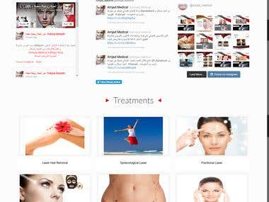 amjad-medical.com Web Design, Development, Hosting & SEO