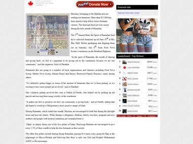 Community News Article