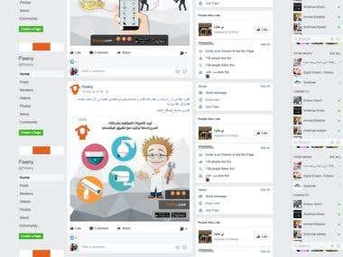 Social Media Marketing & Management for fixeny