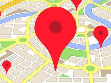 Collect bulk locations from Google Maps