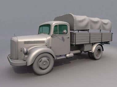 truck_modelling