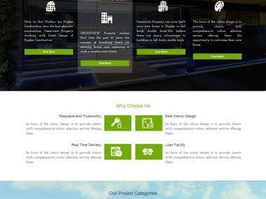 GREENVIEW Property Website