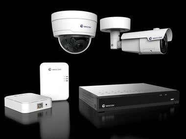 3d Model of CCTV
