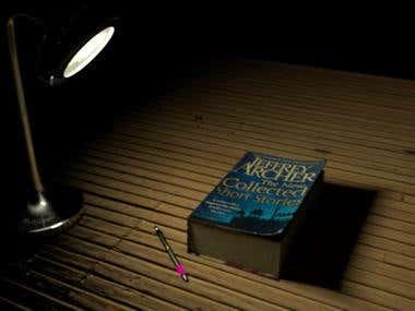 Still life render- Book