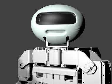 3D Prints:Robot