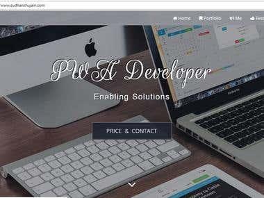 PWA Progressive Web App