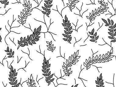 Textile Fabric Print Design