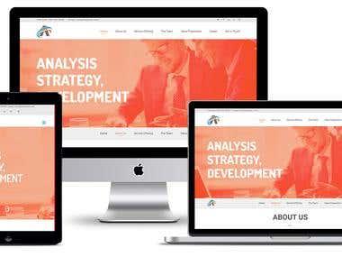 """Website for BPO Telemarketing """"AVISE BUSINESS SOLUTION"""""""