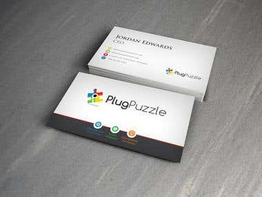 Service based business card