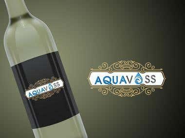 """Design a Logo """"aquavoss"""" $90 USD"""
