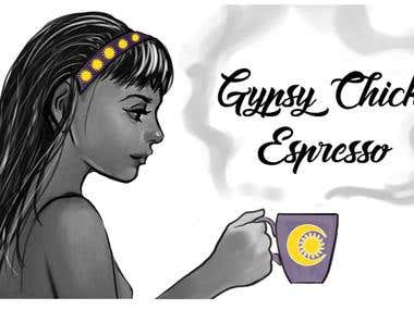Gypsy Chick Espresso Coffee Company Logo