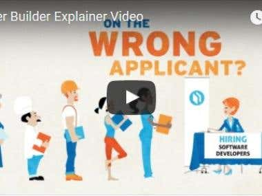 Career Builder Explainer Video