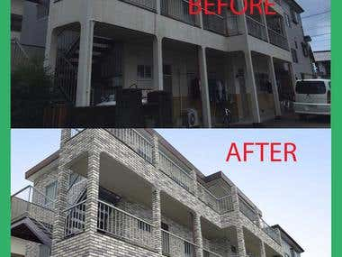 Graphics Simulation-Repaint and Renovate Old Houses -$40 USD