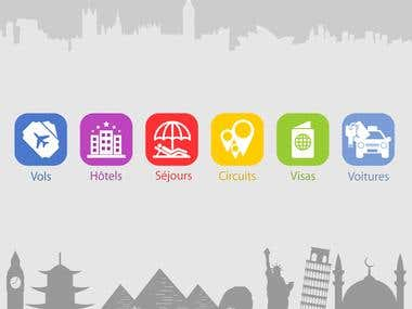 Icons Design for Apps & Websites